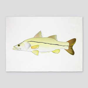 Common Snook 5'x7'Area Rug