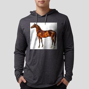 horse Mens Hooded Shirt
