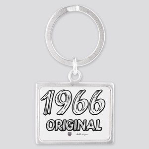 2-1966txt2 Landscape Keychain