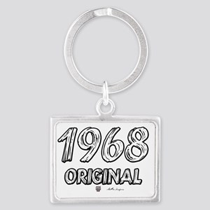 1968txt Landscape Keychain