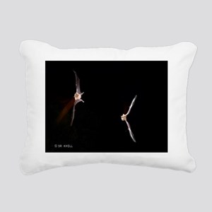 BAT104.9x12 Rectangular Canvas Pillow