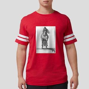 Charging horse Mens Football Shirt