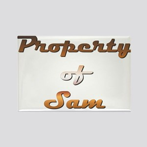 Property Of Sam Male Magnets