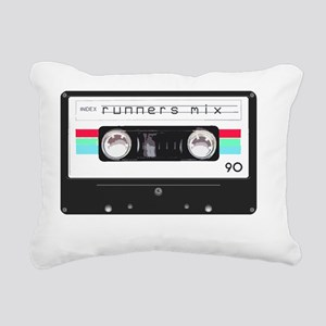 runnerscassettetape Rectangular Canvas Pillow