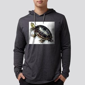 Painted turtle Mens Hooded Shirt
