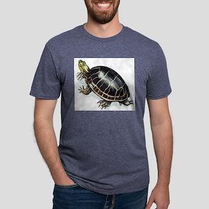 Painted turtle Mens Tri-blend T-Shirt