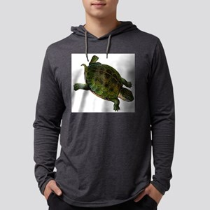 box turtle Mens Hooded Shirt