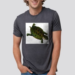 box turtle Mens Tri-blend T-Shirt