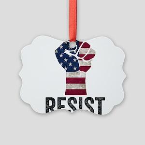 Resist Anti Trump Ornament