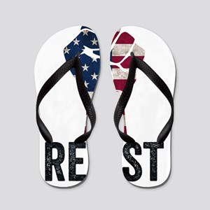 Resist Anti Trump Flip Flops