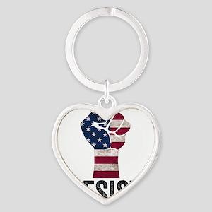Resist Anti Trump Keychains