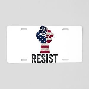 Resist Anti Trump Aluminum License Plate