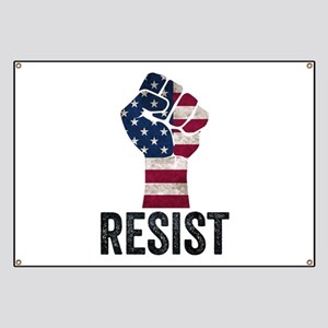 Resist Anti Trump Banner