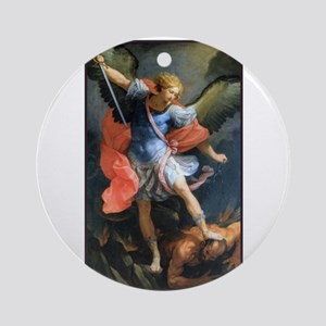 St. Michael the Archangel Ornament (Round)