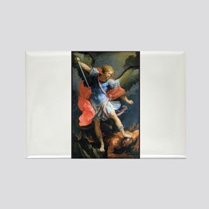 St. Michael the Archangel Rectangle Magnet