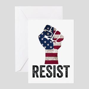 Resist Anti Trump Greeting Cards
