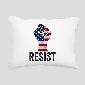 Resist Anti Trump Rectangular Canvas Pillow