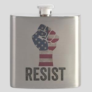 Resist Anti Trump Flask