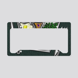 11-TV Dinner Tray Cooked Froz License Plate Holder