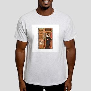 St. Scholastica Ash Grey T-Shirt