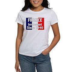 France is Irrelevant Women's T-Shirt