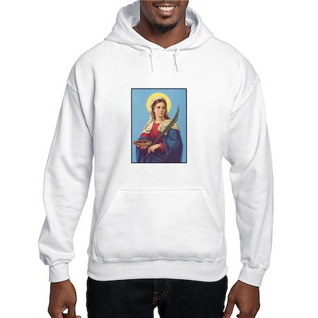 St. Lucy Hooded Sweatshirt