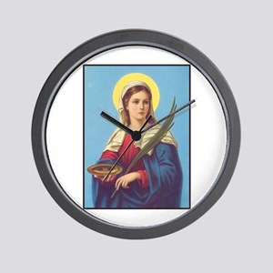 St. Lucy Wall Clock