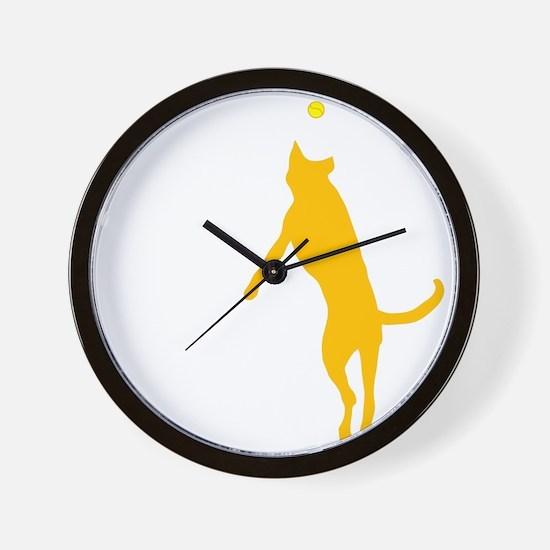 10x10 morefun csue blk Wall Clock