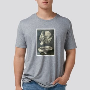 Gyrfalcon art Mens Tri-blend T-Shirt
