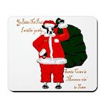 Santa Cows (Santa Claus) Mousepad