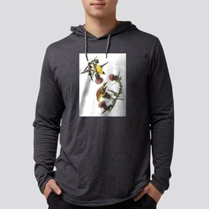 American Goldfinch Mens Hooded Shirt