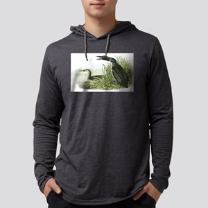 Common Loon Mens Hooded Shirt
