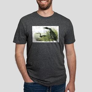 Common Loon Mens Tri-blend T-Shirt