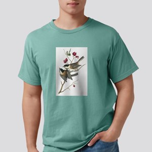 Black-capped Chickadee Mens Comfort Colors Shirt