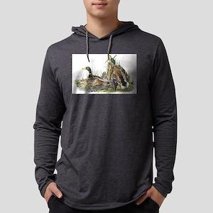 Mallard Duck Mens Hooded Shirt