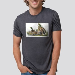 Mallard Duck Mens Tri-blend T-Shirt