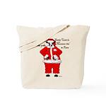 Santa Cows (Santa Claus) Tote Bag