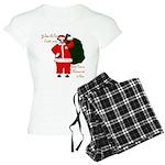 Santa Cows (Santa Claus) Women's Light Pajamas