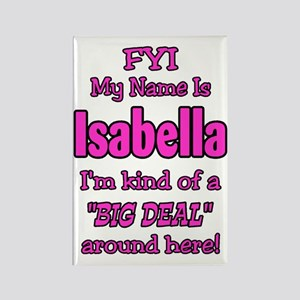 Isabella Rectangle Magnet