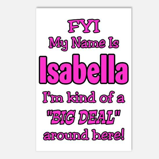 Isabella Postcards (Package of 8)