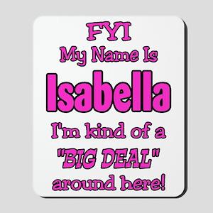 Isabella Mousepad