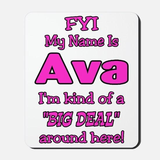 Ava Mousepad