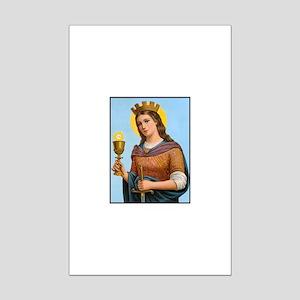 St. Barbara Mini Poster Print