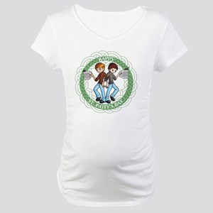 Boondock Saints St. Pattys Maternity T-Shirt