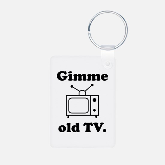 Old TV Keychains