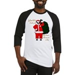 Santa Cows (Santa Claus) Baseball Jersey