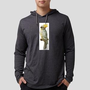 cockatoo Mens Hooded Shirt