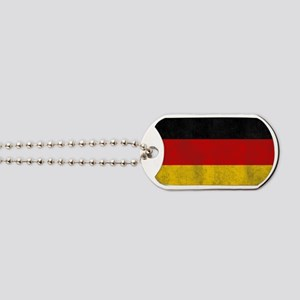 vintage-germany-flag Dog Tags