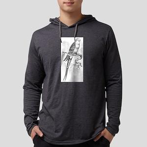 parakeet Mens Hooded Shirt