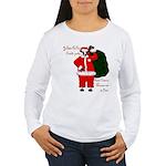 Santa Cows (Santa Claus) Women's Long Sleeve T-Shi
